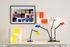 Lampe de table Fato Bicolor / Applique - Réédition 1969 - Artemide