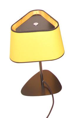Lampe de table Grand Nuage H 62 cm - Designheure jaune,or laqué en matière plastique