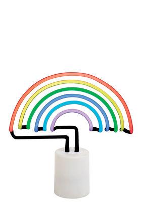 Lampe Neon Arc-en-ciel Large / H 30 cm - Sunnylife blanc,multicolore en verre