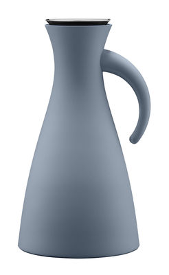 Pichet isotherme 1L / Ø 15,5 x H 29 cm - Eva Solo bleu acier en matière plastique