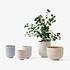 Pot de fleurs Collect SC71 / Ø 18 x H 18 cm - Polystone - &tradition