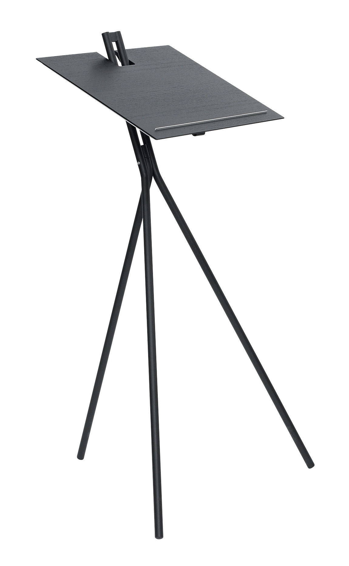 Furniture - Miscellaneous furniture - Notos Reading desk - Adjustable height by ClassiCon - Black - Plywood, Steel