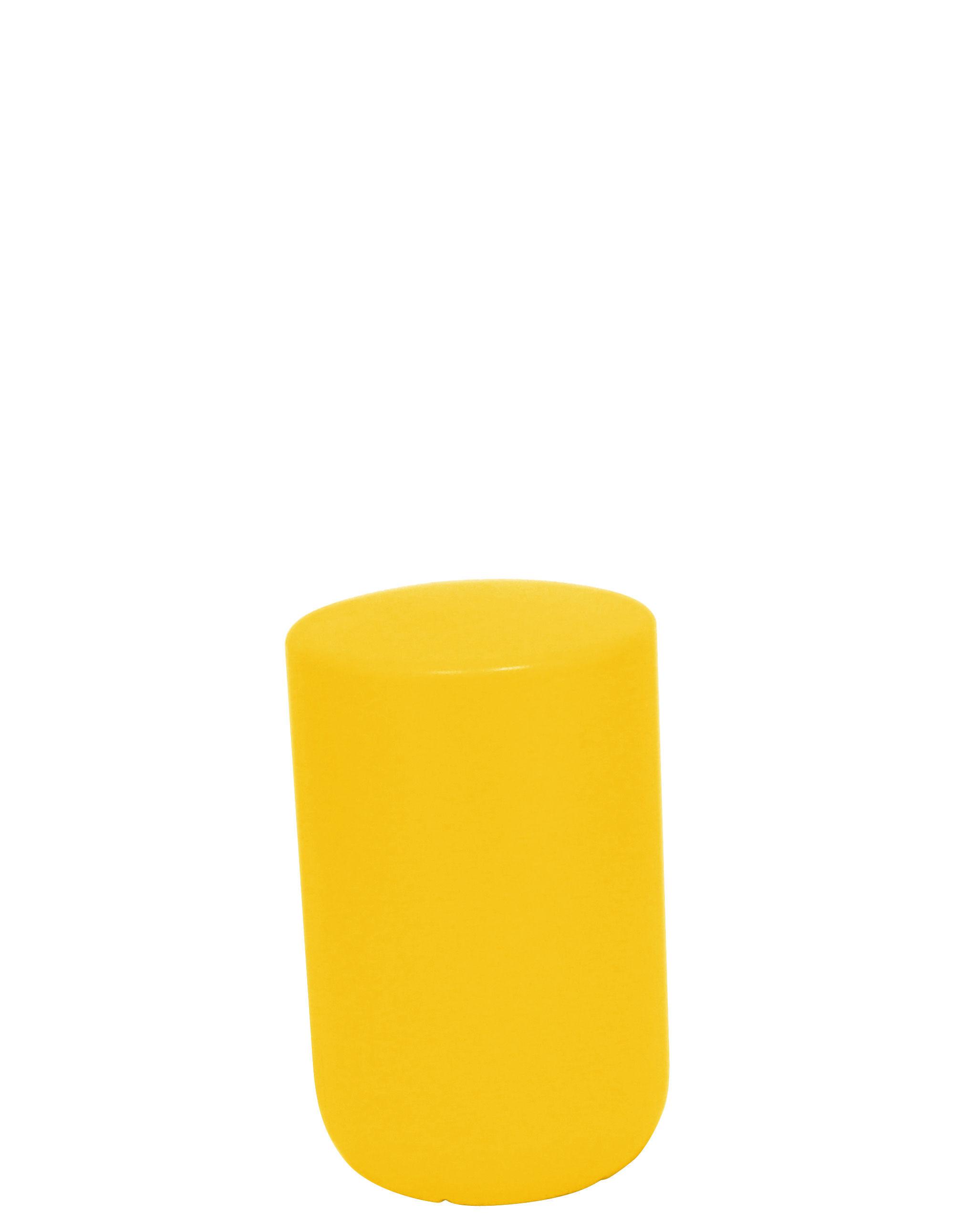 Arredamento - Mobili per bambini - Sgabello bimbi Sway - H 34 cm di Thelermont Hupton - Giallo - Polietilene