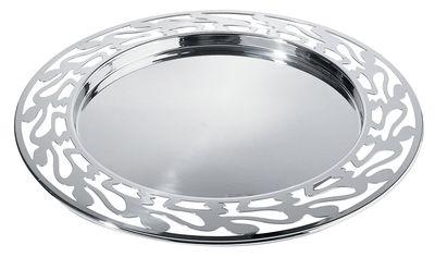 Tischkultur - Tabletts - Ethno Tablett - Alessi - Stahl - Stahl, rostfrei 18/10