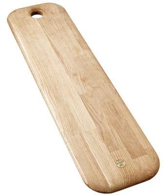 Cucina - Utensili da cucina - Tagliere Chop Long di Tom Dixon - Legno naturale - Rovere massello