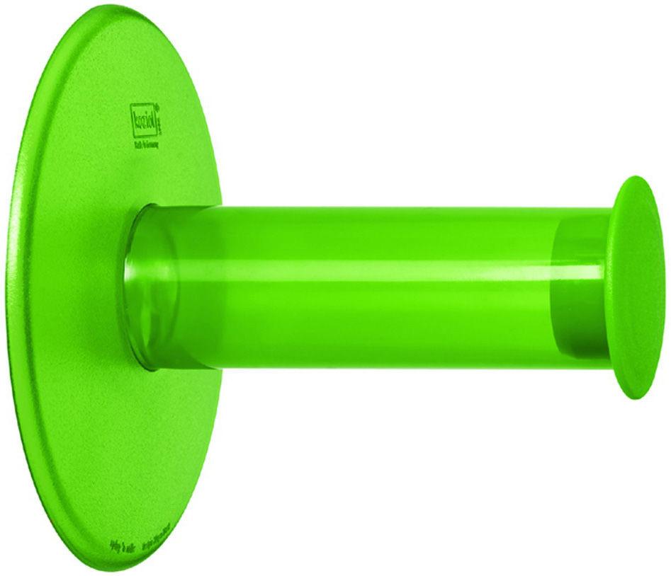 Dekoration - Badezimmer - Plug´N Roll Toilettenpapierhalter - Koziol - Grün transparent - Plastikmaterial