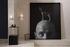 Umarell LED Wall light - / Ceramic - L 18 x H 13 cm by Karman