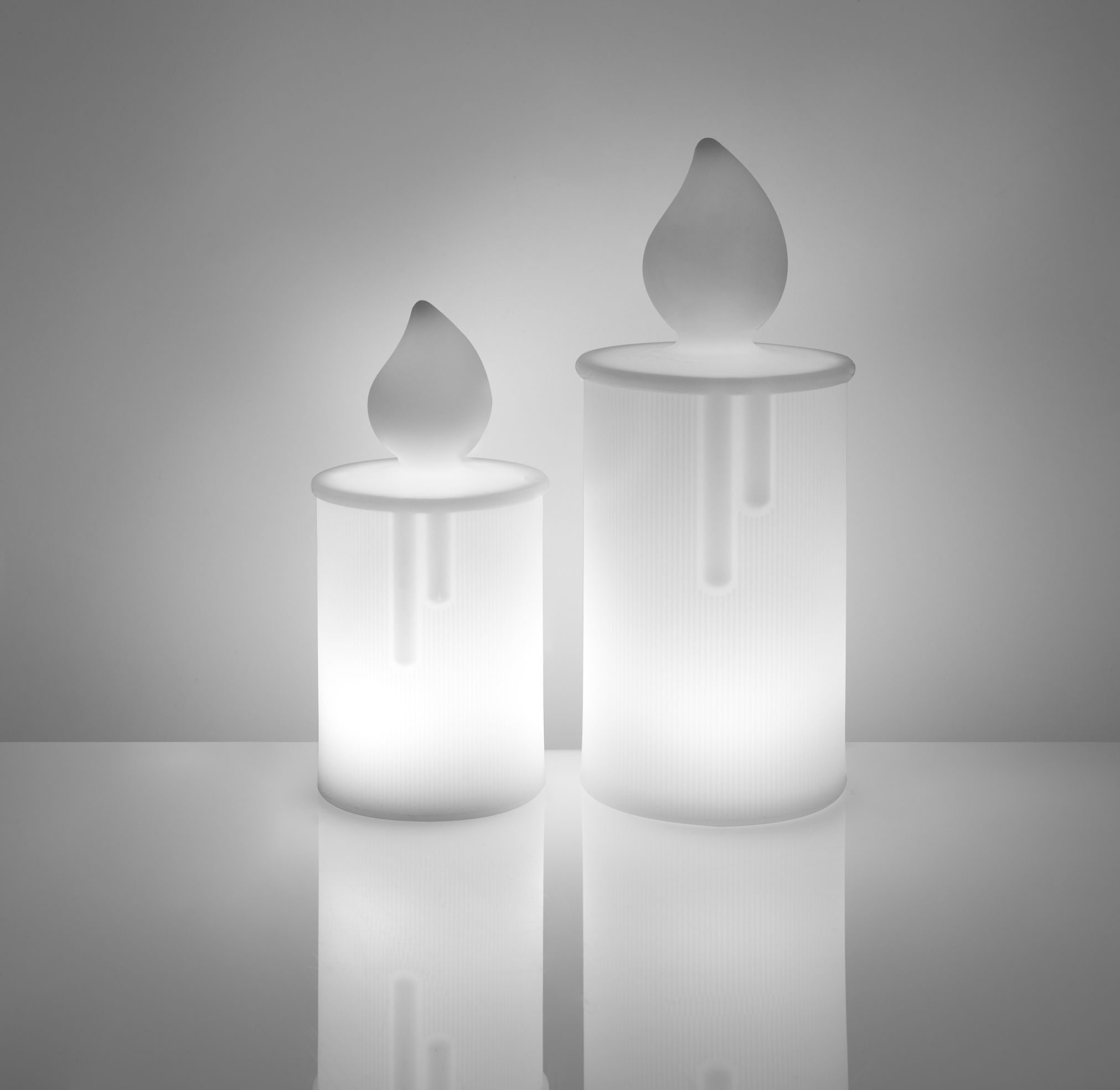 Wireless Lamp Fiamma By Slide White Made In Design Uk