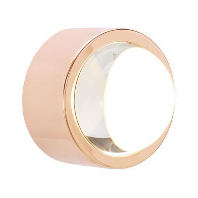 Luminaire - Appliques - Applique Spot LED / Ronde - Ø 10 cm - Tom Dixon - Cuivre - Acier plaqué cuivre, Verre