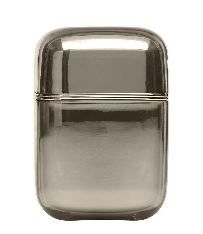 Déco - Bougeoirs, photophores - Bougie parfumée Oyster / Kartell Frangrances - H 19 cm - Kartell - Fumé / Senteur 'Drops' - Cire, Matière plastique
