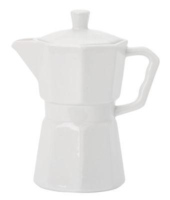 Tavola - Caffè - Bricco per caffè Estetico Quotidiano - / Caraffa - 600 ml di Seletti - Bianco - Porcellana