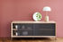 Gabin Dresser - L 122 cm - Oak & metal by Hartô