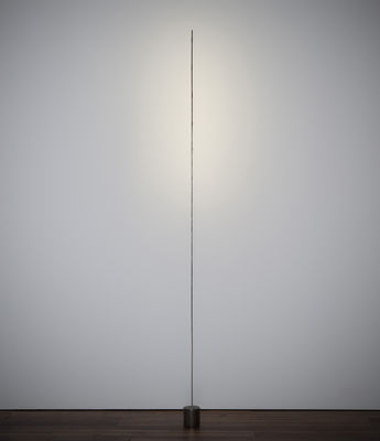 Lighting - Floor lamps - Light stick Floor lamp - Floor lamp by Catellani & Smith - Silver - black base - Metal