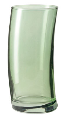 Tableware - Wine Glasses & Glassware - Swing Long drink glass by Leonardo - Green - Glass