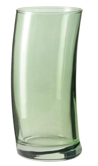 Tischkultur - Gläser - Swing Longdrink Glas - Leonardo - Grün - Glas