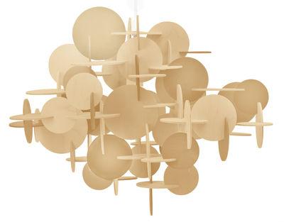 Lighting - Pendant Lighting - Bau Small Pendant - H 43 cm by Normann Copenhagen - Natural wood - Pine