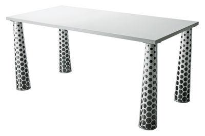 Plateau de table Flare / 160 x 85 cm - Magis blanc en matière plastique