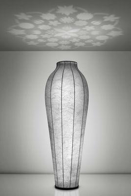 Leuchten - Chrysalis Stehleuchte H 200 cm - Deckenfluter mit Projektor - Flos - Weiß - ABS, Glas, Harz, Stahl