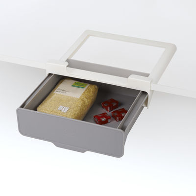 Küche - Dosen, Boxen und Gläser - Hängende Schublade / Für Regale & Wandschränke - L 23,5 x P. 22,5 cm - Joseph Joseph - Grau - Polypropylen