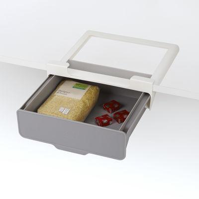 Cuisine - Boîtes, pots et bocaux - Tiroir suspendu / Pour étagère & placards - L 23,5 x P. 22,5 cm - Joseph Joseph - Gris - Polypropylène