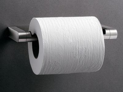 Vipp Toilet Brush : Vipp toilet paper dispenser inox black by vipp made in design uk