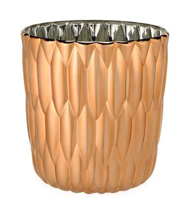 Vase Jelly / Métallisé - Kartell cuivre en matière plastique