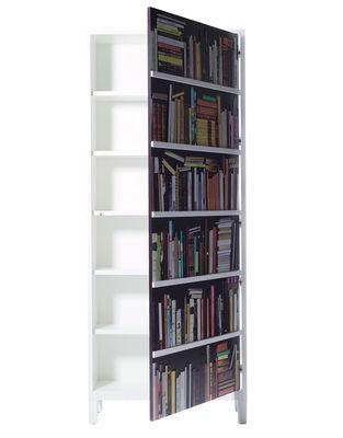 Furniture - Bookcases & Bookshelves - Bookshelf Wardrobe - Cupboard by Skitsch - White - Multicoloured - Lacquered MDF