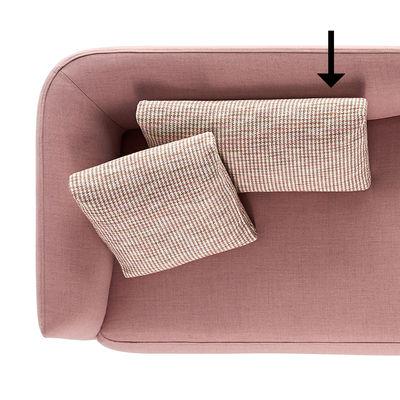 Accessoire canapé Cosy Coussin pour canapé Cosy 40 x 75 MDF Italia rose en tissu