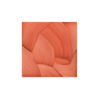 Déco - Stickers, papiers peints & posters - Affiche Ronan Bouroullec - Drawing 12 / 55 x 55 cm - The Wrong Shop - Rouge - Papier premium