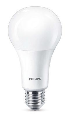 Ampoule LED E27 Standard dépolie / Dimmable - 13,5W (100W) - 1521 lumen - Philips blanc dépoli en verre