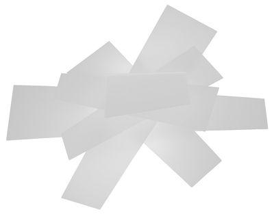 Applique Big Bang / Plafonnier - Foscarini blanc en matière plastique