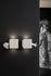 Applique Binarell LED - / Testa - Ceramica di Karman