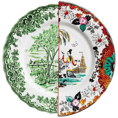 Assiette Hybrid Ipazia Ø 27,5 cm - Seletti multicolore en céramique