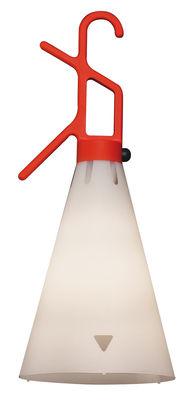 Luminaire - Lampes de table - Baladeuse Mayday / H 53 cm - Poignée polypropylène - Flos - Orange - Polypropylène