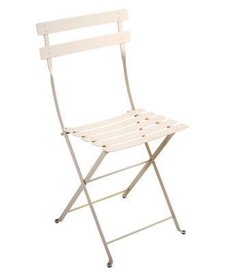 Chaise pliante Bistro / Métal - Fermob lin en métal