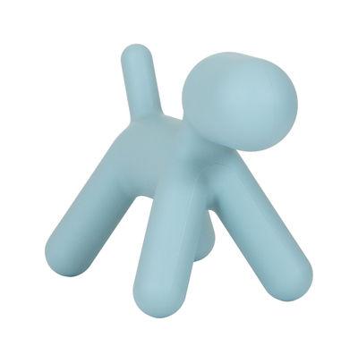 Mobilier - Mobilier Kids - Décoration Puppy Small / L 42 cm - Magis Collection Me Too - Turquoise mat - Polyéthylène rotomoulé