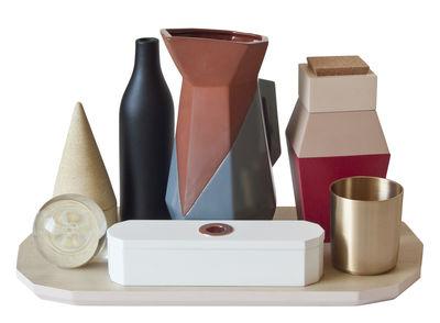 Accessories - Desk & Office Accessories - Still Alive Desk organizer - Set of 7 pieces + 1 tray by Seletti - Multicolor - Copper, Cork, Glass, Terracotta, Wood