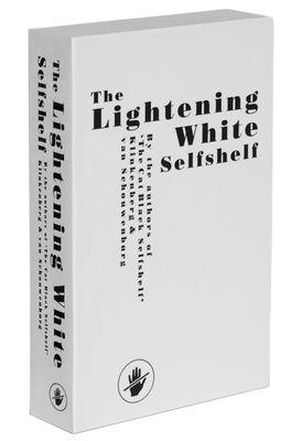 Mobilier - Etagères & bibliothèques - Etagère Self Shelf Pocket - Lightening white / Trompe-l'œil - Zho - Pop Corn - Blanc - Bois peint