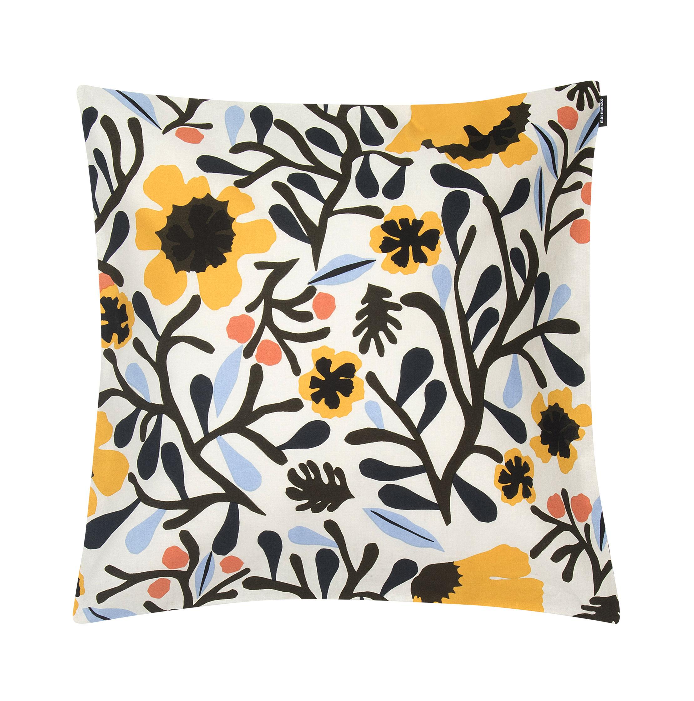 housse de coussin mykero marimekko mykero jaune bleu. Black Bedroom Furniture Sets. Home Design Ideas