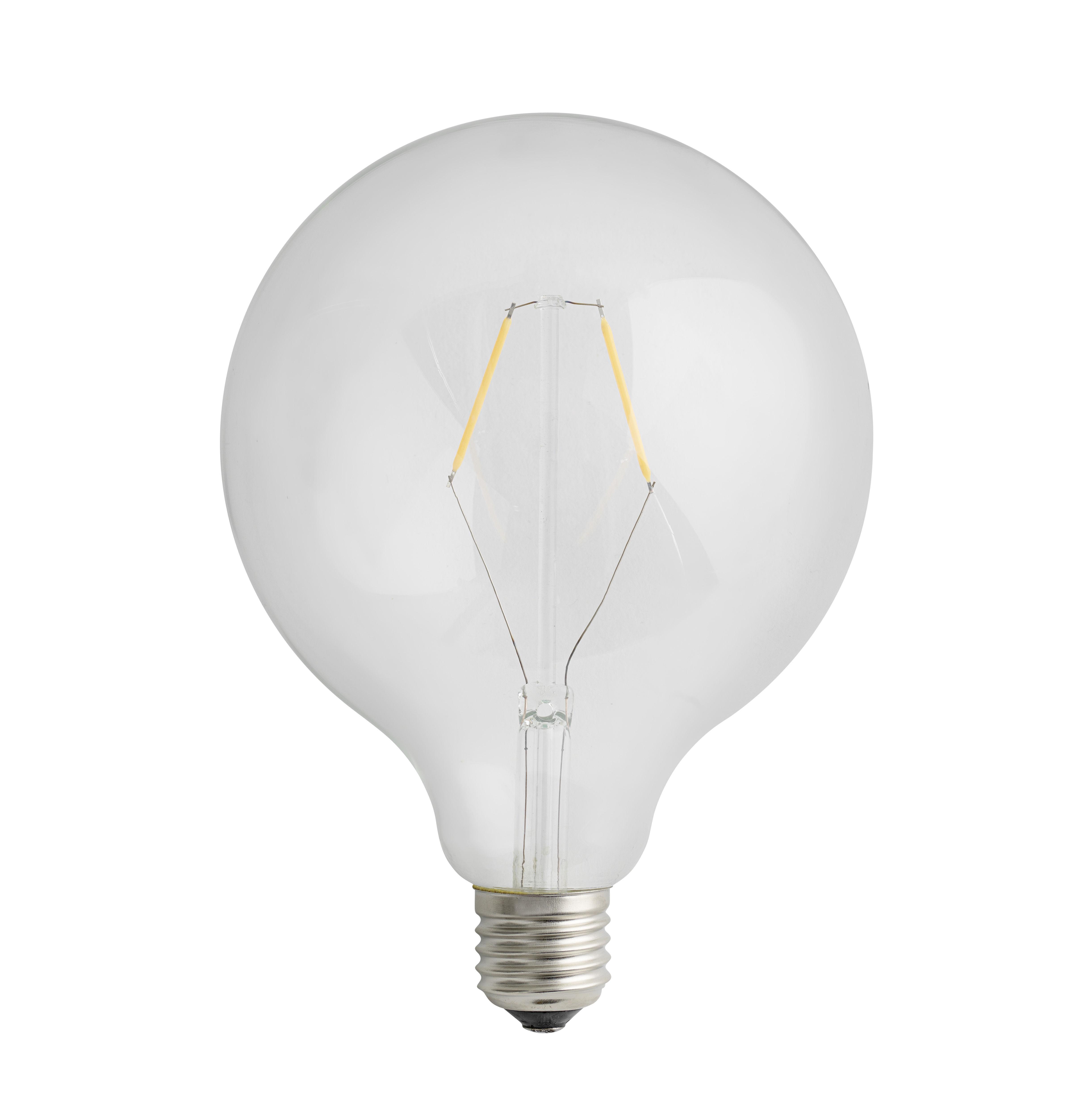 Illuminazione - Lampadine e Accessori - Lampadina LED a filamenti E27 / 2W - 220 lumen - Muuto - Lampadina LED - Vetro