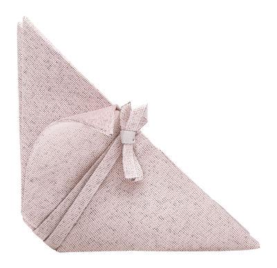 Serviette de table Iittala X Issey Miyake - Iittala rose clair en tissu