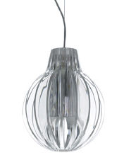 Luminaire - Suspensions - Suspension Agave forme ronde - Luceplan - Transparent - Méthacrylate