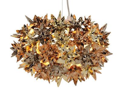 Suspension Bloom Bouquet / Small Ø 28 cm - Métallisée - Kartell bronze,cuivre,or en matière plastique