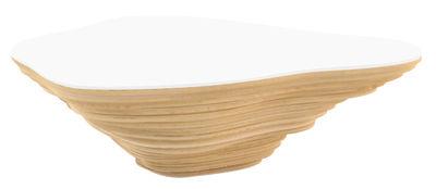 Table basse Livingisland Viale modulable - Smarin blanc,bois clair en bois