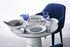 Table ronde Disc / Ø 70 x H 75 cm - Résine aspect marbre - Pols Potten