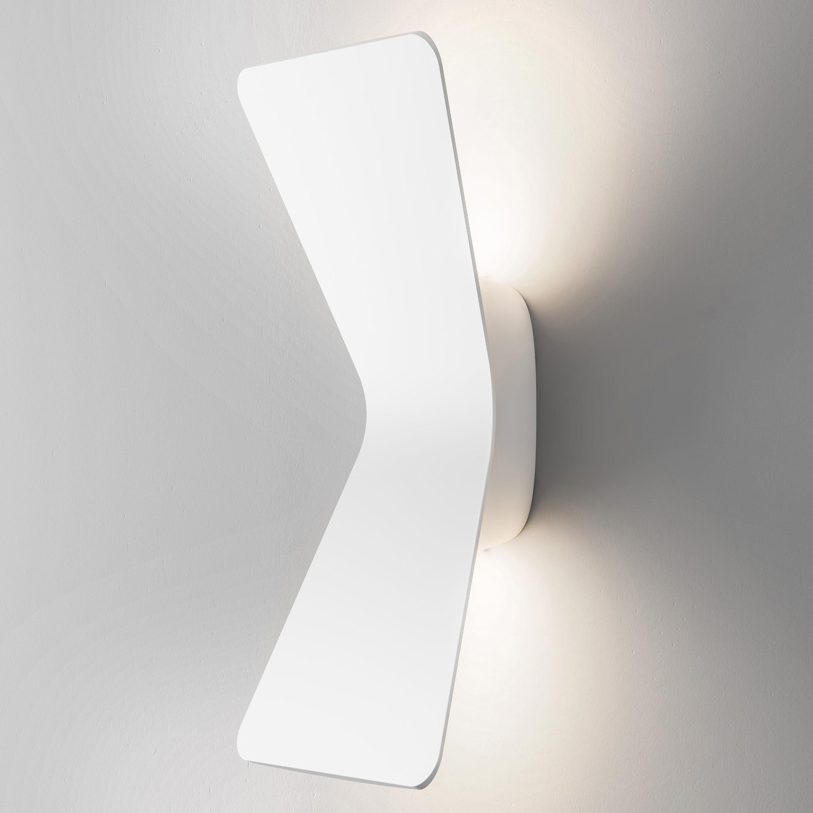 Luminaire - Appliques - Applique Flex LED - Fontana Arte - Blanc - Aluminium