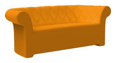 Canapé Sirchester / L 193 cm - Serralunga orange en matière plastique