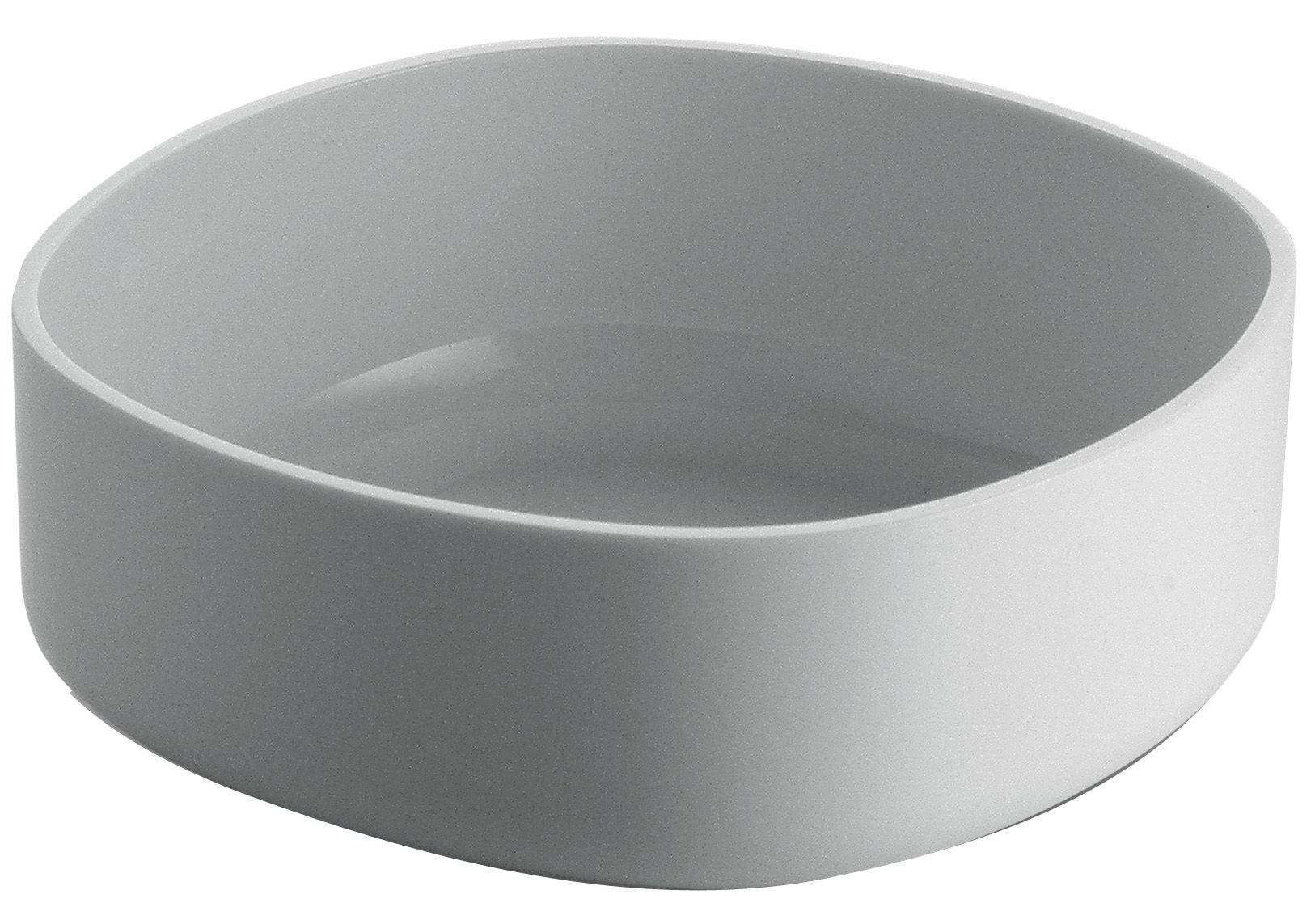 Déco - Salle de bains - Coupe Birillo - Alessi - Blanc - PMMA