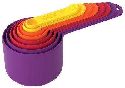 Cucina - Utensili da cucina - Cucchiaio dosatore Nest Measure - / Set da 8 - Impilabili di Joseph Joseph - Multicolore - Polipropilene