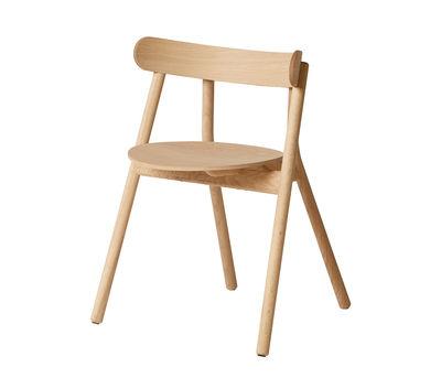 Mobilier - Chaises, fauteuils de salle à manger - Fauteuil Oaki / Chêne - Northern  - Chêne clair - Chêne